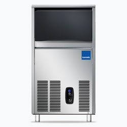 Icematic CS Series: CS35-A, 35kg production of bright gourmet ice, 11.5kg internal storage, self contained ice machine cuber