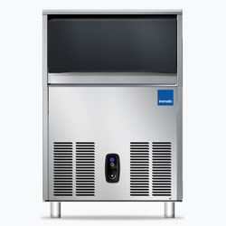 Icematic CS Series: CS40-A, 40kg production of bright gourmet ice, 15kg internal storage, self contained ice machine cuber
