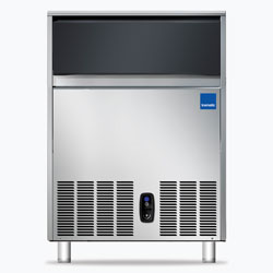 Icematic CS Series: CS90-A, 90kg production of bright gourmet ice, 42kg internal storage, self contained ice machine cuber