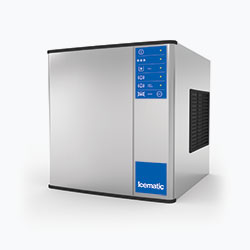 Icematic M Series: MH132-A, 130kg production of half dice ice, high production modular ice machine cuber
