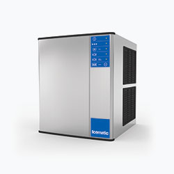Icematic M Series: MH192-A, 200kg production of half dice ice, high production modular ice machine cuber