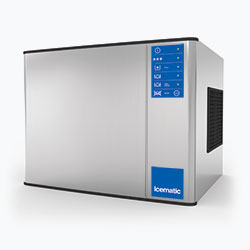 Icematic M Series: MH202-A, 215kg production of half dice ice, high production modular ice machine cuber