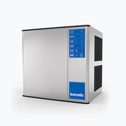 Icematic M Series: MH402-A, 400kg production of half dice ice, high production modular ice machine cuber