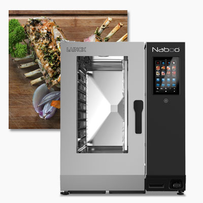 Lainox NABOO Boosted Series combi oven steamers