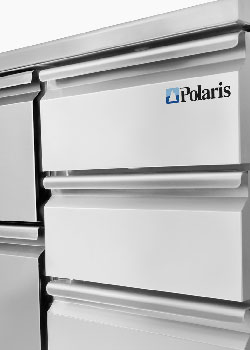 Polaris refrigerated cabinets and freezer cabinets