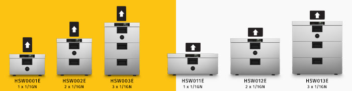 Moduline Hot Holding Warm Series: warming drawers, food holding, food preservers