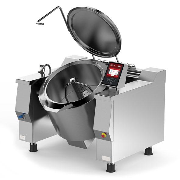 Firex firex cucimix tilting braising pans mixer direct steam heating cbtv