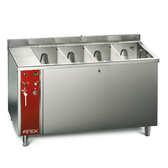 Firex vegetable washer four basin lwd4