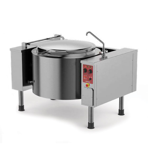 Firex firex easybaskett tilting boiling pans direct gas heating pmk dg