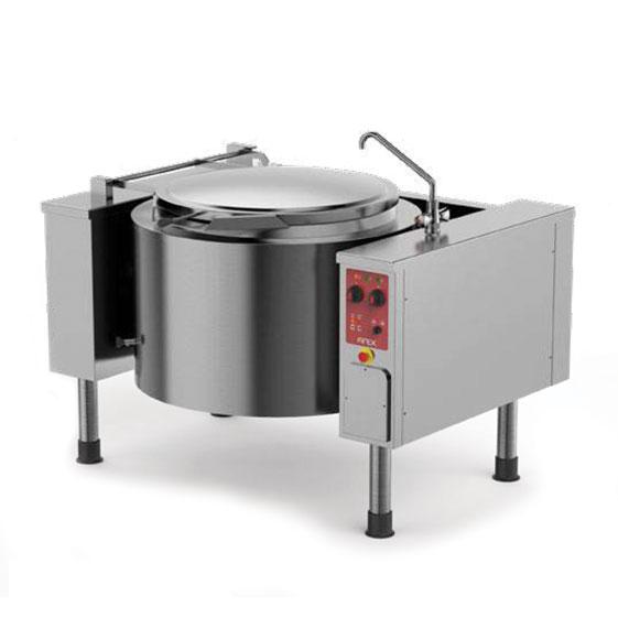 Firex firex easybaskett tilting boiling pans indirect steam heating pmk iv