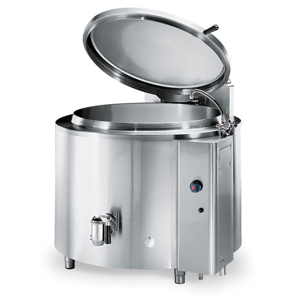 Firex fixed cylindrical pan indirect steam pmriv