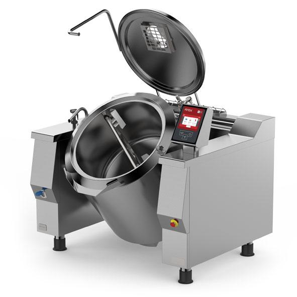 Firex tilting pan mixer indirect gas prig