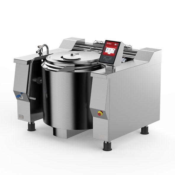 Firex tilting pan mixer indirect steam priv