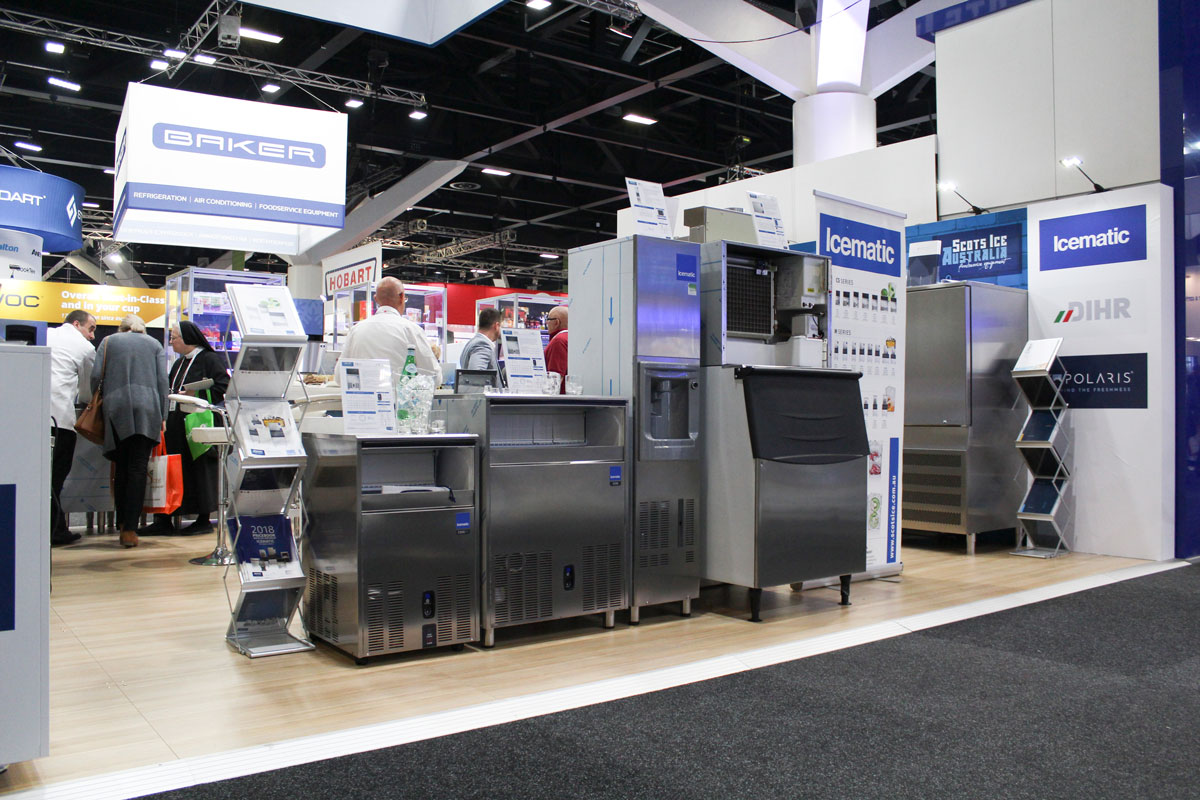 Fine Food Australia 2019 Scots Ice Australia Foodservice Equipment Icematic