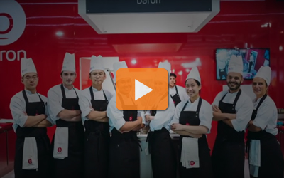 Baron presenting Talent multi-purpose with a culinary contest during Host 2017