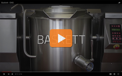baskett series tilting boiling pans