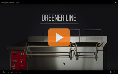 dreener line vegetables washers