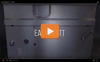 easybratt series tilting braising pans