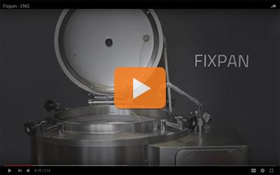 fixpan series industrial pasteurisation pans