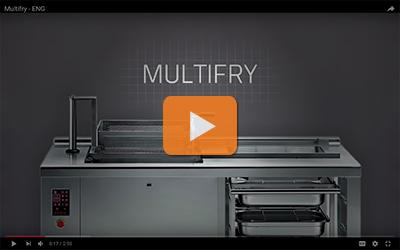 multifry series professional fryers