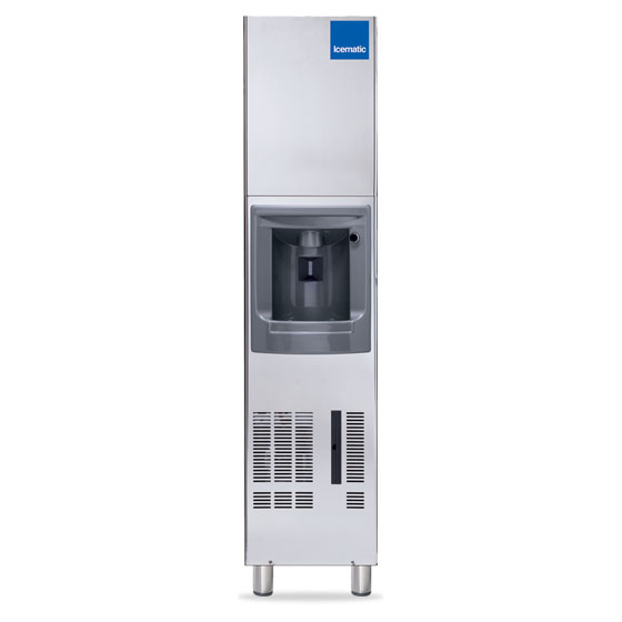 Icematic ice dispenser floor model dx35