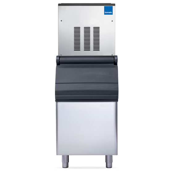 Icematic ice machine flaker high production modular f120