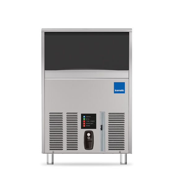 Icematic icematic ice machine 120kg flaker self contained flake ice f120c