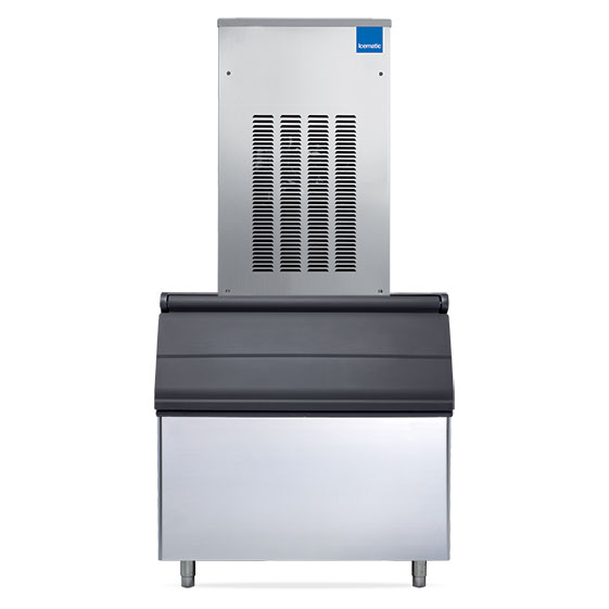 Icematic icematic nugget ice machine 425kg high production nu470s