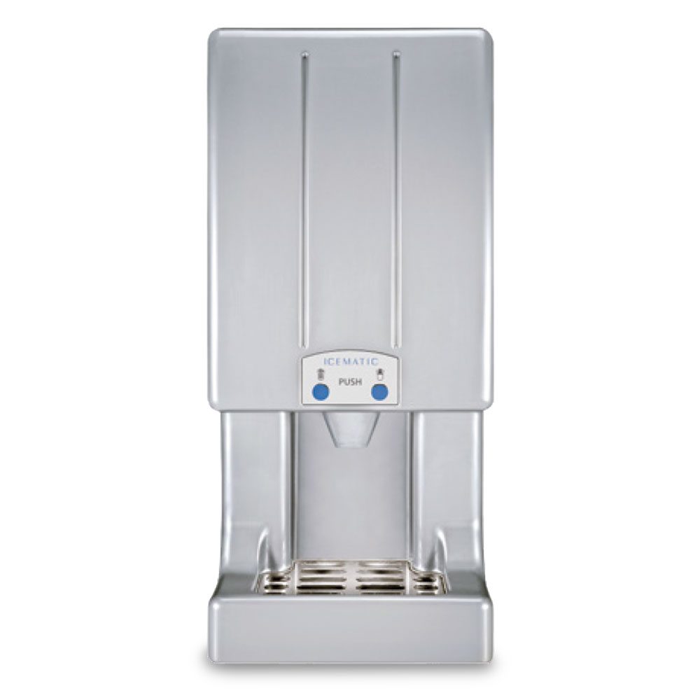 Icematic ice water dispenser bench model td130