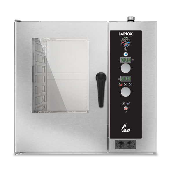 Lainox lainox combi oven gas 7x1 1gn electronic control direct steam lgo071s