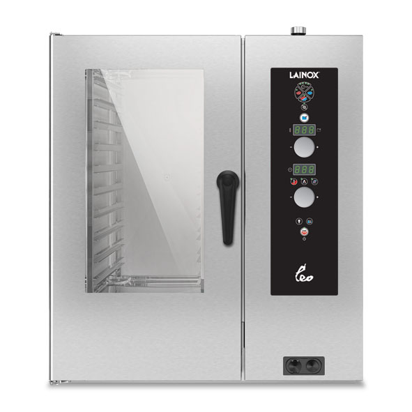 Lainox lainox combi oven electric 10x1 1gn electronic control direct steam leo101s