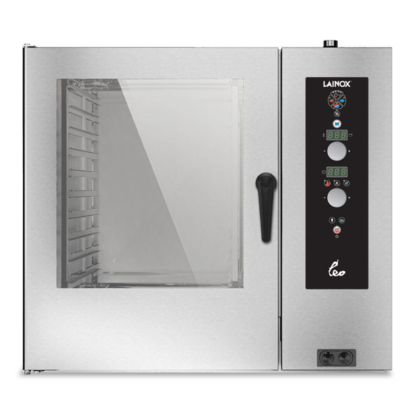 Lainox lainox combi oven electric 10x2 1gn electronic control direct steam leo102s