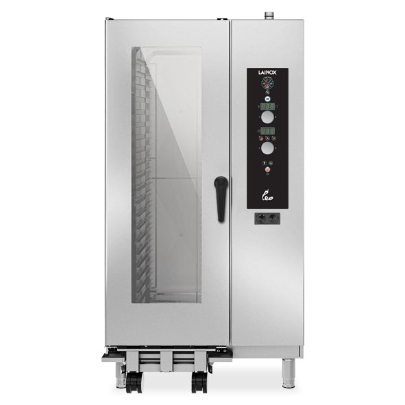 Lainox lainox combi oven electric 20x1 1gn electronic control direct steam leo201s