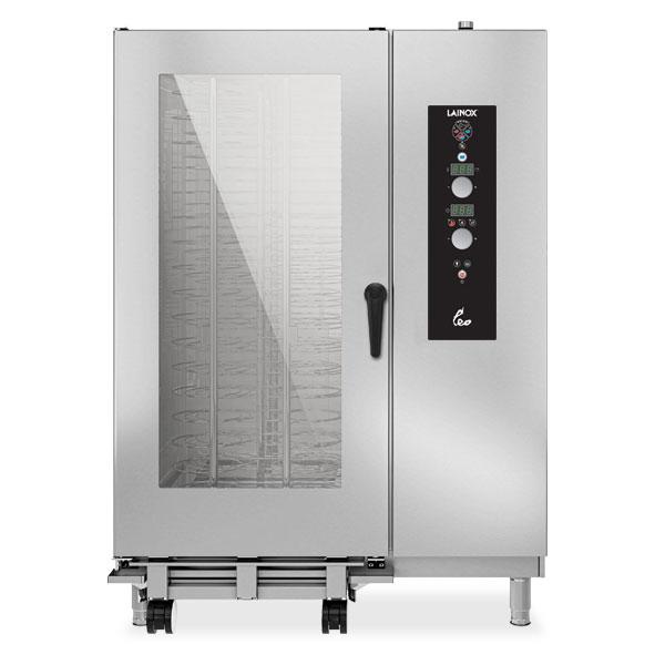 Lainox lainox combi oven gas 40x1 1gn electronic control direct steam lgo202s