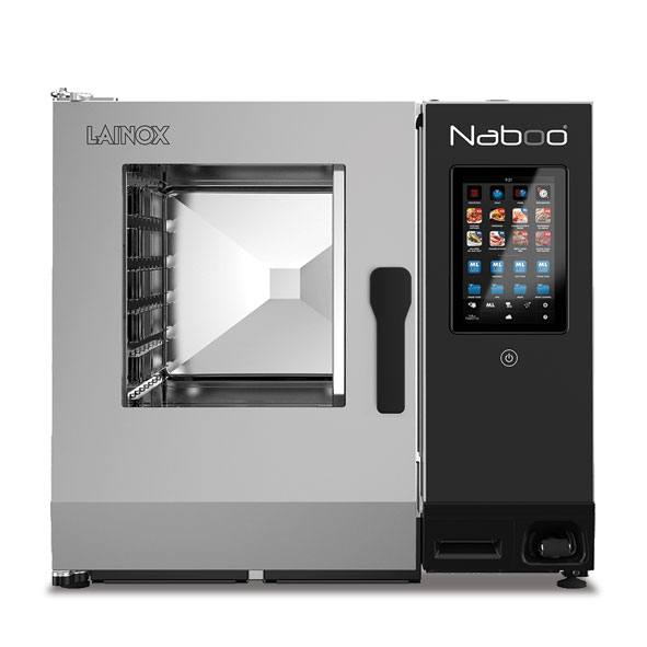 Lainox lainox combi oven electric naboo boosted 6x1 1gn touch control direct steam nae061b