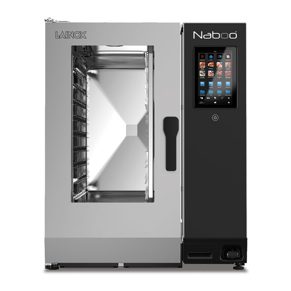Lainox lainox combi oven electric naboo boosted 10x1 1gn touch control direct steam nae101b