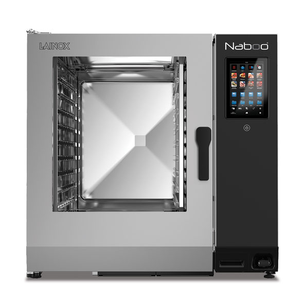 Lainox lainox combi oven electric naboo boosted 10x2 1gn touch control direct steam nae102b
