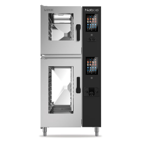 Lainox lainox combi oven electric naboo boosted 6 10x1 1gn touch control direct steam nae161b