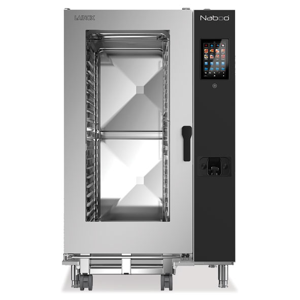 Lainox lainox combi oven electric naboo boosted 20x2 1gn touch control direct steam nae202b