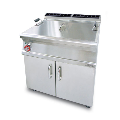 Lotus pastry large pan fryer electric f45 78e