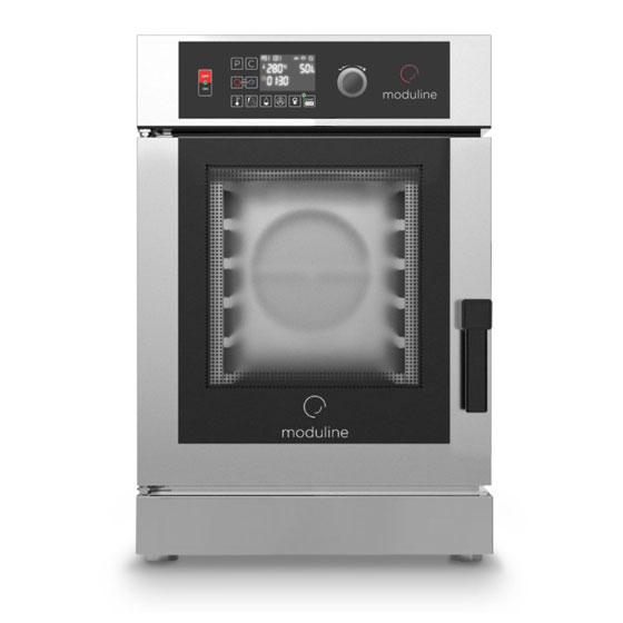 Moduline moduline combi oven electric 6x1 1gn compact electronic control direct steam gce106d