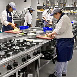 Our Baron range of cooking equipment is approved by the Department of Education for Schools and Colleges and is the perfect partner for these facilities
