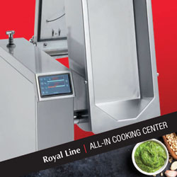 Baron Commercial Multifunctional Cooking Equipment, ALL-IN COOKING CENTER One Machine, Many Ways To Cook, Made In Italy