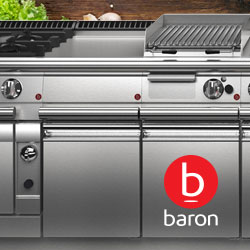 Baron Queen Series Commercial Cooking And Kitchen Equipment, Design Features and Improvements, Made In Italy