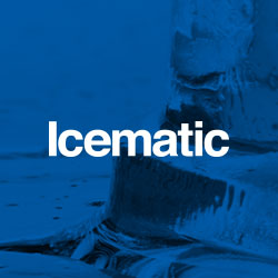 Manufacturers of commercial ice making equipment such as ice cubers, flakers, ice dispensers and ice storage solutions. ICEMATIC is synonymous with ice makers
