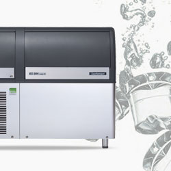 Ice machines, ice makers with water drain pump,Scotsman