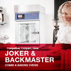 Cooking, Ovens, Baking, Compact, Slim Line, Combi Steamers, Joker Backmaster Series, Made In Germany, Eloma