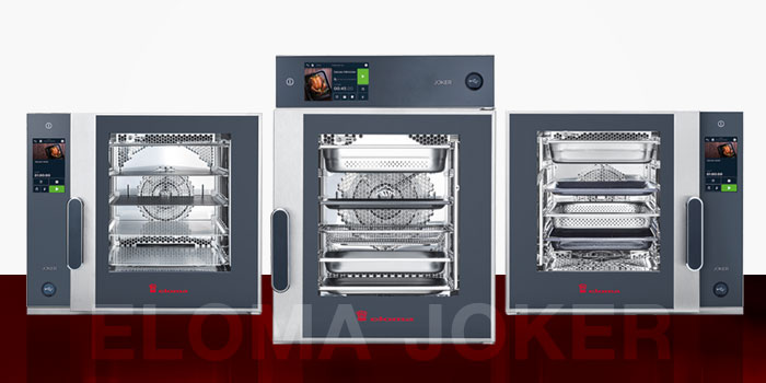 Eloma Ovens, Baking, Compact, Slim Line, Combi Steamers, Joker Series, Made In Germany, Eloma
