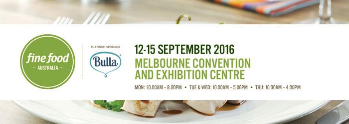 Fine Food Australia Trade Show Event 2016 Melbourne Convention & Exhibition centre.
