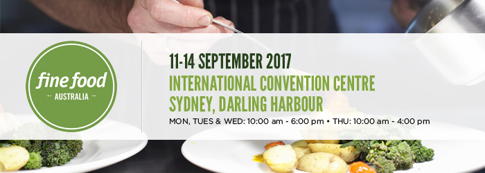 Fine Food Australia Trade Show Event 2017 International Convention Centre Sydney Darling Harbour Scots Ice Australia Stand Number HE40